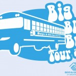 blue bus tour